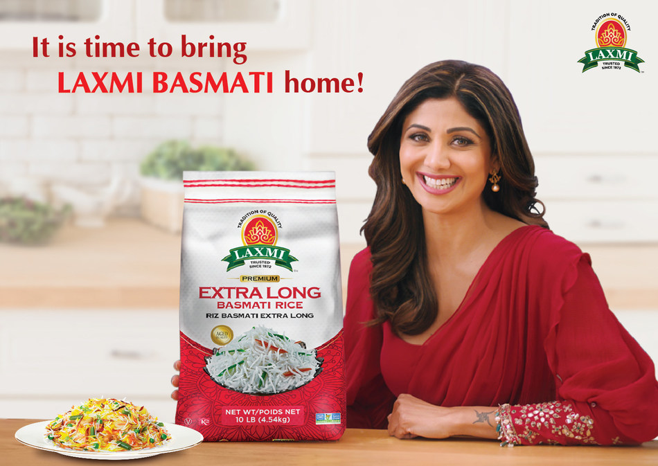 Bollywood Superstar and Fitness Icon Shilpa Shetty Kundra Is The New Face of U.S. Based South Asian food brand, Laxmi! This past year with all its challenges has proven to us that nothing matters more than family and one way we all stayed positive and connected was through cooking. House of Spices offering range of superior products from the extra-long basmati rice to the purest turmeric, ghee and the newly launched range of Ayurvedic spices.