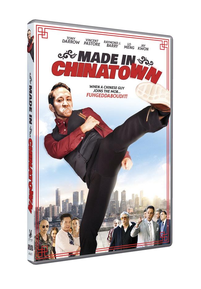 Made In Chinatown Kung Fu Mafia Movie DVD