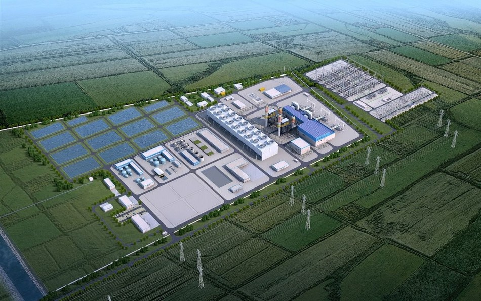 The OPEC Fund's US$50 million loan to ACWA Power will support the construction and operation of a 1.5 GW combined cycle gas-turbine power plant in Sirdarya, Uzbekistan. Photo Credit: ACWA Power. (PRNewsfoto/OPEC Fund for International Development)
