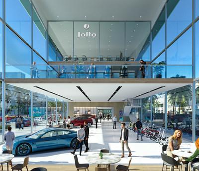 Jolta Showroom Concept Rendering