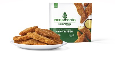 New Incogmeato Chik'n Tenders are available this month at retailers nationwide.
