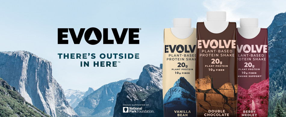 EVOLVE® Plant-Based Protein Renews Partnership with National Park Foundation