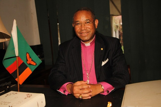 Anglican Bishop Musonda Trevor Selwyn Mwamba, a board member of Katrina's Dream and candidate for president of Zambia issues statement urging US Senate to Pass the ERA. Photo Credit: Unknown