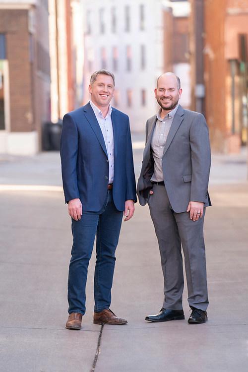 Bill Favre and Ryan Wessel of @properties La Crosse