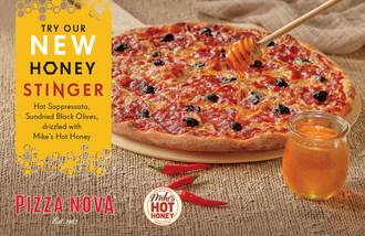 披萨Nova将于2021年4月19日推出蜂蜜毒辣披萨(CNW集团/披萨Nova)