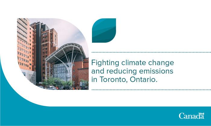 Noventa Energy Partners Inc.正在用低碳经济基金资助的节能系统改造多伦多西部医院。(CNW集团/加拿大环境与气候变化)