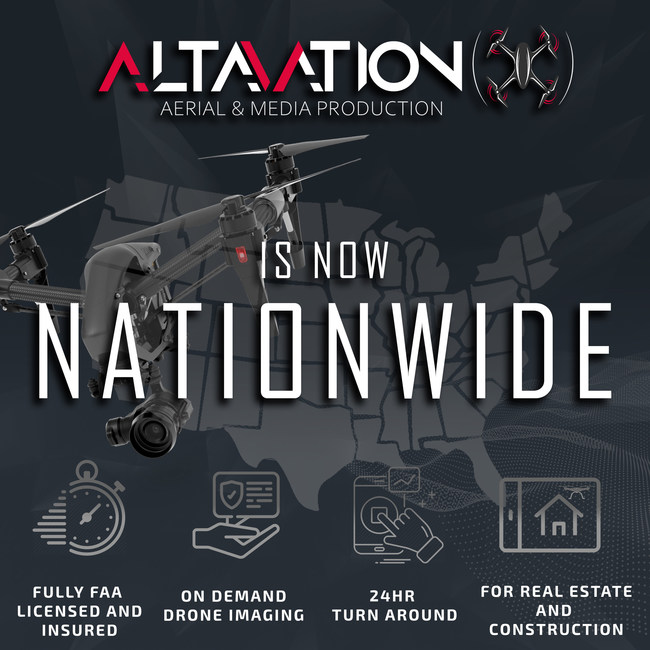 Altavation's Services Aer Now Available Nationwide, On-Demand!