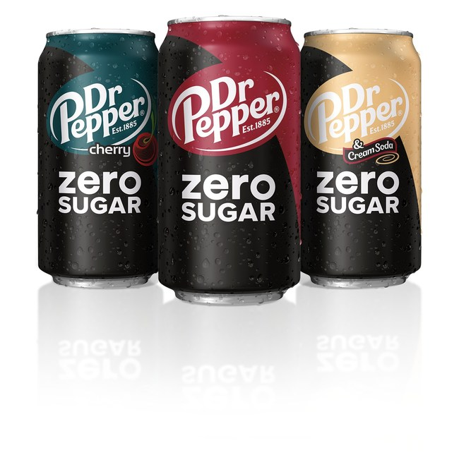 The wait is over - the zero sugar soda you deserve is finally here! Dr Pepper announced today the launch of Dr Pepper Zero Sugar, which celebrates the one-of-a-kind blend of its signature 23 flavors in a zero sugar soda that delivers all the flavor consumers deserve. It is available now nationwide in Original, Cherry and Cream Soda flavors.