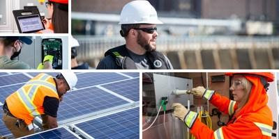Les efforts de durabilité environnementale d'Hydro Ottawa en action (Groupe CNW/Société de portefeuille d'Hydro Ottawa inc.)