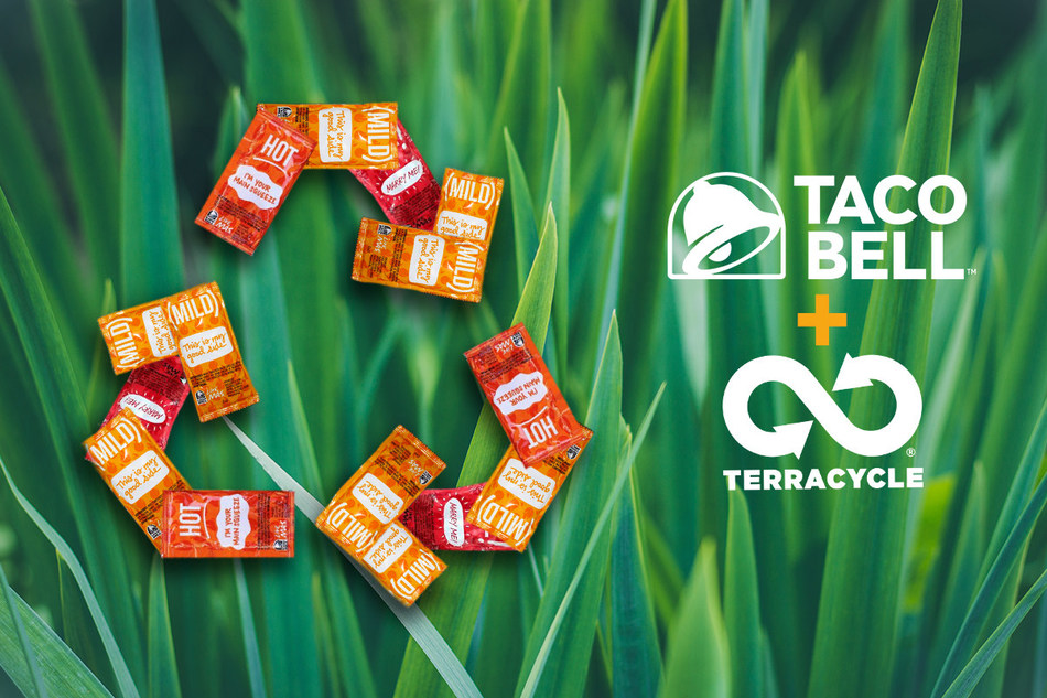 Taco Bell will be launching a U.S. pilot program in 2021 to recycle its iconic hot sauce packets.