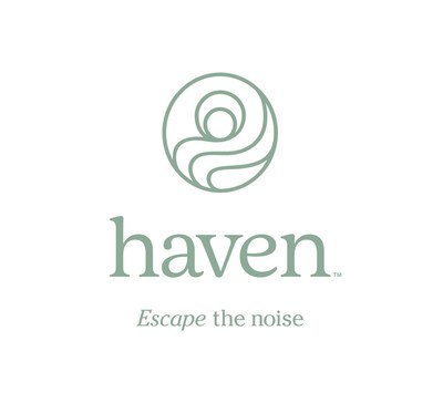 """""""Escape the Noise™"""" with Haven, a modern, spa-inspired assortment of bath essentials available only at Bed Bath & Beyond starting April 19."""
