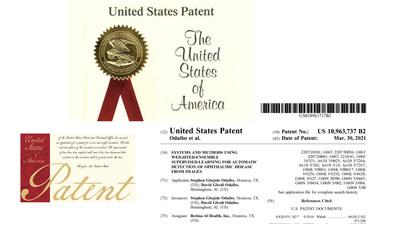 RETINA-AI Health, Inc.'s patent. Inventors: Stephen G. Odaibo and David Odaibo
