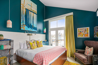 """The Boathouse Waterfront Hotel and the Maine Lobster Marketing Collaborative unveil """"The Maine Lobster Suite,"""" inspired by the sweetest lobster in the world, on April 19, 2021, in Kennebunkport, ME. (Images: © Heidi Kirn Photography)"""