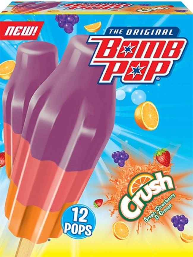 Bomb Pop® and Crush® Soda Team Up for The Ultimate Summer Treat, Bomb Pop Crush®