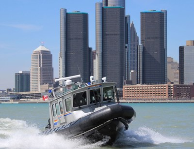 Navire Shiprider de la GRC (Groupe CNW/Gendarmerie royale du Canada)