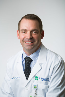 Daniel Flora, MD, medical oncologist and medical director of clinical research at St. Elizabeth Healthcare