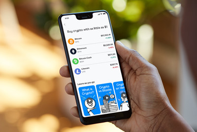 Introducing crypto on Venmo, a new way for Venmo's more than 70 million customers to buy, hold and sell cryptocurrency directly within the Venmo app.