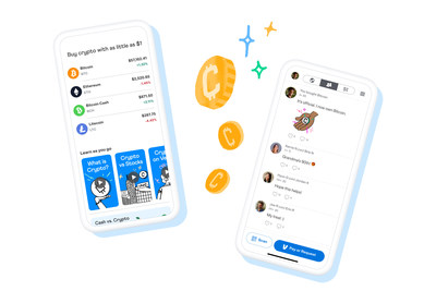 Customers can now buy, hold and sell cryptocurrency directly within the Venmo app with as little as $1.