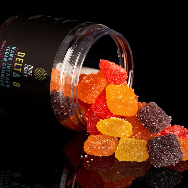Pure Craft CBD Launches Vegan, Nano-Infused Delta-8 Gummies