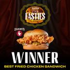 Zaxby's Signature Sandwich tops Thrillist's list