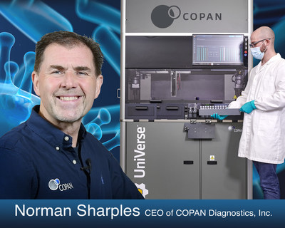 COPAN Diagnostics' Announces its North American Launch of UniVerse™, COPAN's Fully Automated Instrument for Molecular Specimen Preparation prior to Testing