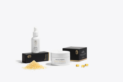 Sleep Box: Curated collection of 3 full-spectrum CBD products for daily balance + extra support for quality sleep. Includes: (1) 300 mg 30 mL Daily Drops, (1) 60 ct 10 mg Softgels, and (1) Mindful Mineral Soak.