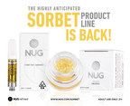 NUG's Cured Cannabis Concentrate, Sorbet, Makes its Highly Anticipated Return to the California Cannabis Market