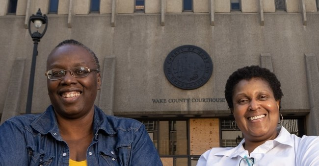 Sonja Ebron and Debra Slone of Courtroom5 are named 2021 Founders of Color Showcase finalists.