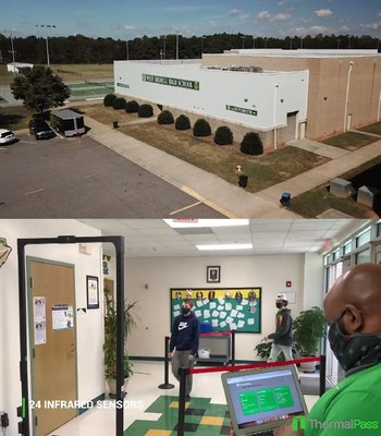 ThermalPass Deployed at Iredell-Statesville Schools, One of the Largest School Districts in North Carolina (CNW Group/Predictiv AI Inc.)