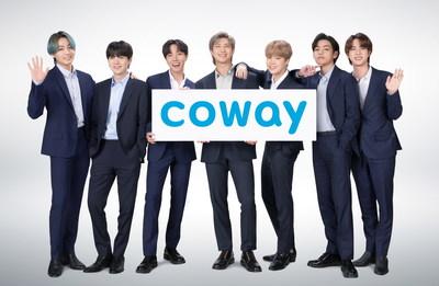 Coway kündigt die Grammy-nominierte Gruppe BTS als neue globale Markenbotschafter an