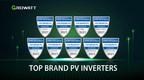 Growatt receives Top Brand PV Inverters awards across global...