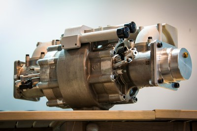 The 10kg Aquarius Engines Linear Free Piston Engine. Photo Credit: David Katz