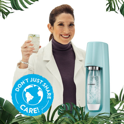 This Earth Day SodaStream is teaming up with Randi Zuckerberg to announce their newest sustainability goals through an environmental campaign,