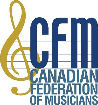Logo: Canadian Federation of Musicians (CFM) (CNW Group/Canadian Federation of Musicians (CFM))