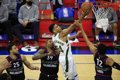 NBA players in action (PRNewsfoto/PM Connect)