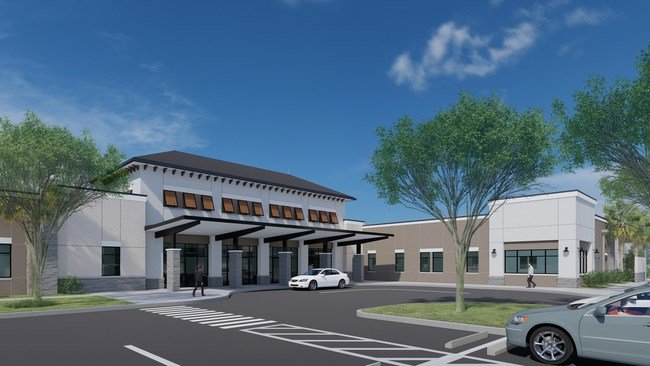 Orthopaedic Medical Group of Tampa Bay breaks ground on new orthopaedic clinic and surgical center in Fish Hawk, Florida.