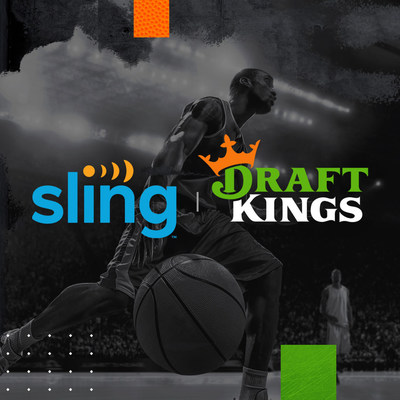 On heels of app integration, SLING TV becomes first live TV streaming service to integrate DraftKings information channel on its platform