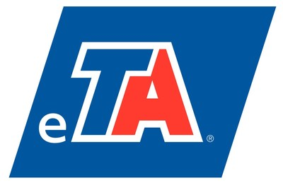 TravelCenters of America's new business unit eTA Logo
