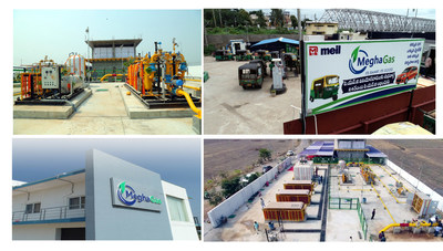 Megha CGD & CNG STATIONS