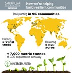 Caterpillar Foundation Announces Global Environmental Partnership with One Tree Planted