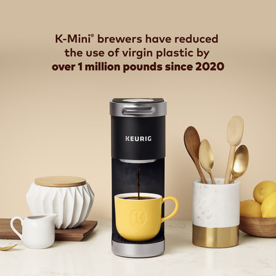 The K-Mini brewer - Keurig's most environmentally minded coffee maker