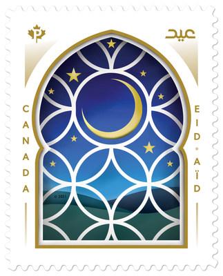 Timbre sur l'Aïd (Groupe CNW/Postes Canada)