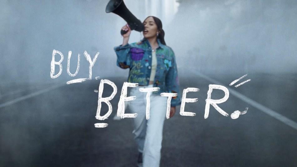 Xiye Bastida from the Levi's® Buy Better. Wear Longer Film (PRNewsfoto/Levi's Middle East)