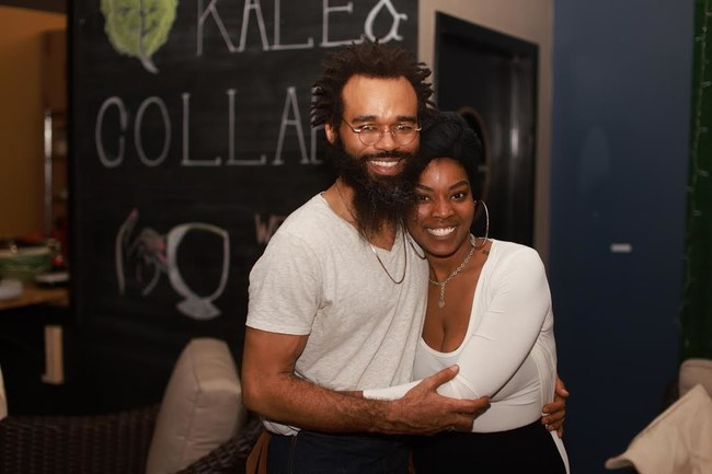 Derrick and Tennae Moore, co-founders of Chicago-based Meal Prep and Party catering service.