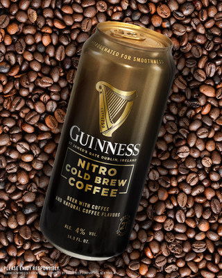 Guinness Reimagines Coffee with New Nitro Cold Brew Coffee Beer