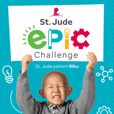 The Inspiration4 St. Jude Science Fair is open to school-age children who have an idea to help out kids like them, including Riku, a patient at St. Jude Children's Research Hospital. Visit stjude.org/epicsciencefair to learn more.