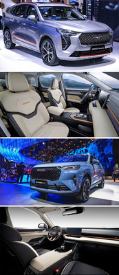 HAVAL JOLION and 3rd Gen HAVAL H6 appearance and interior design (PRNewsfoto/HAVAL)
