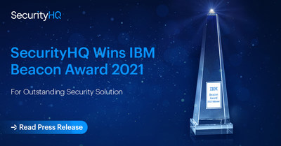 SecurityHQ Wins IBM Beacon Award 2021