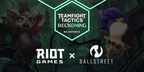 BallStreet Trading Named as the Official Fantasy and Fan Engagement Partner for Riot Games' Teamfight Tactics North America Esports
