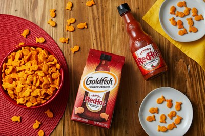 Goldfish® Frank's RedHot crackers